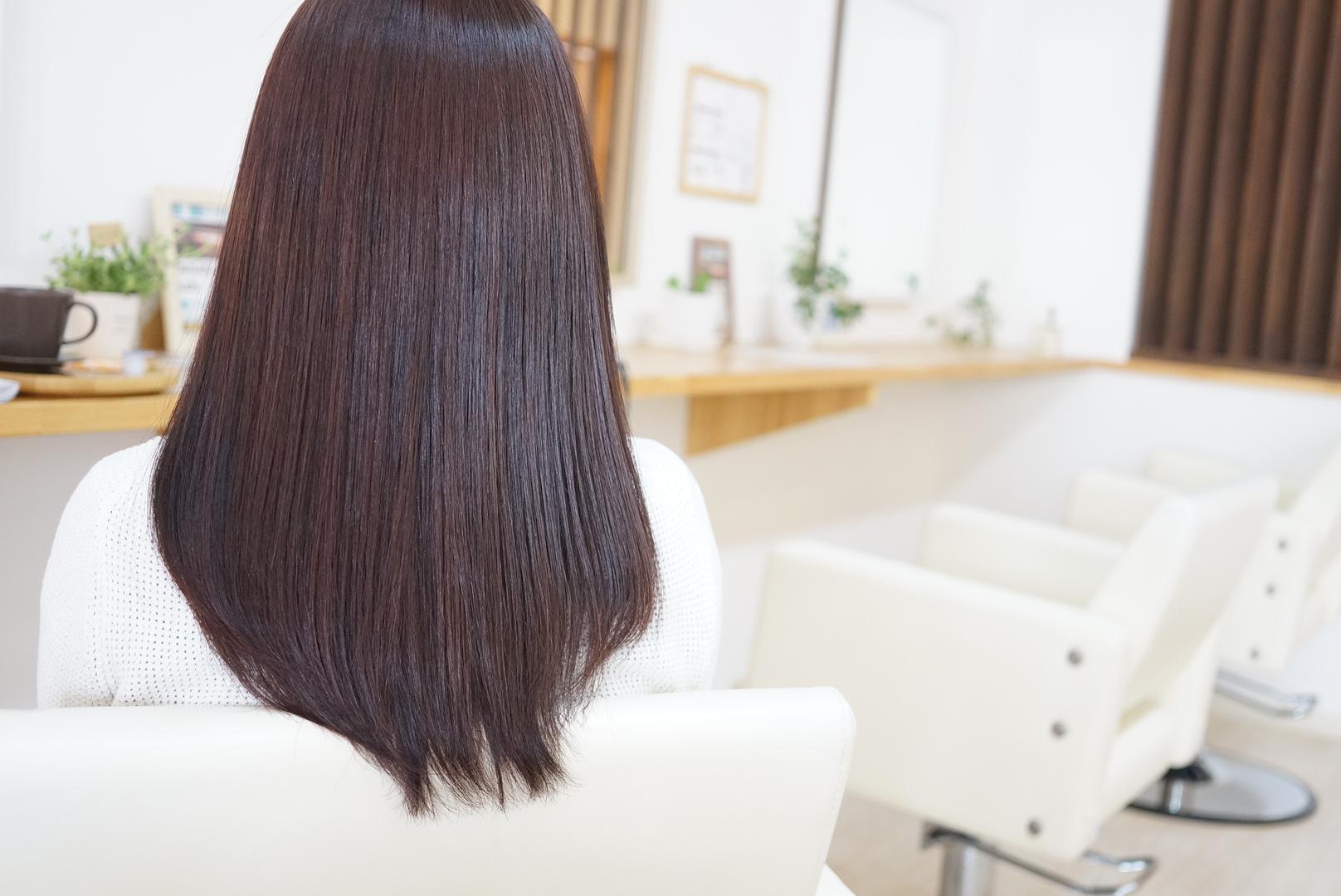 ヘアカラーピンクアッシュ美髪