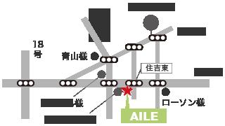 上田市の美容室へのアクセスマップ