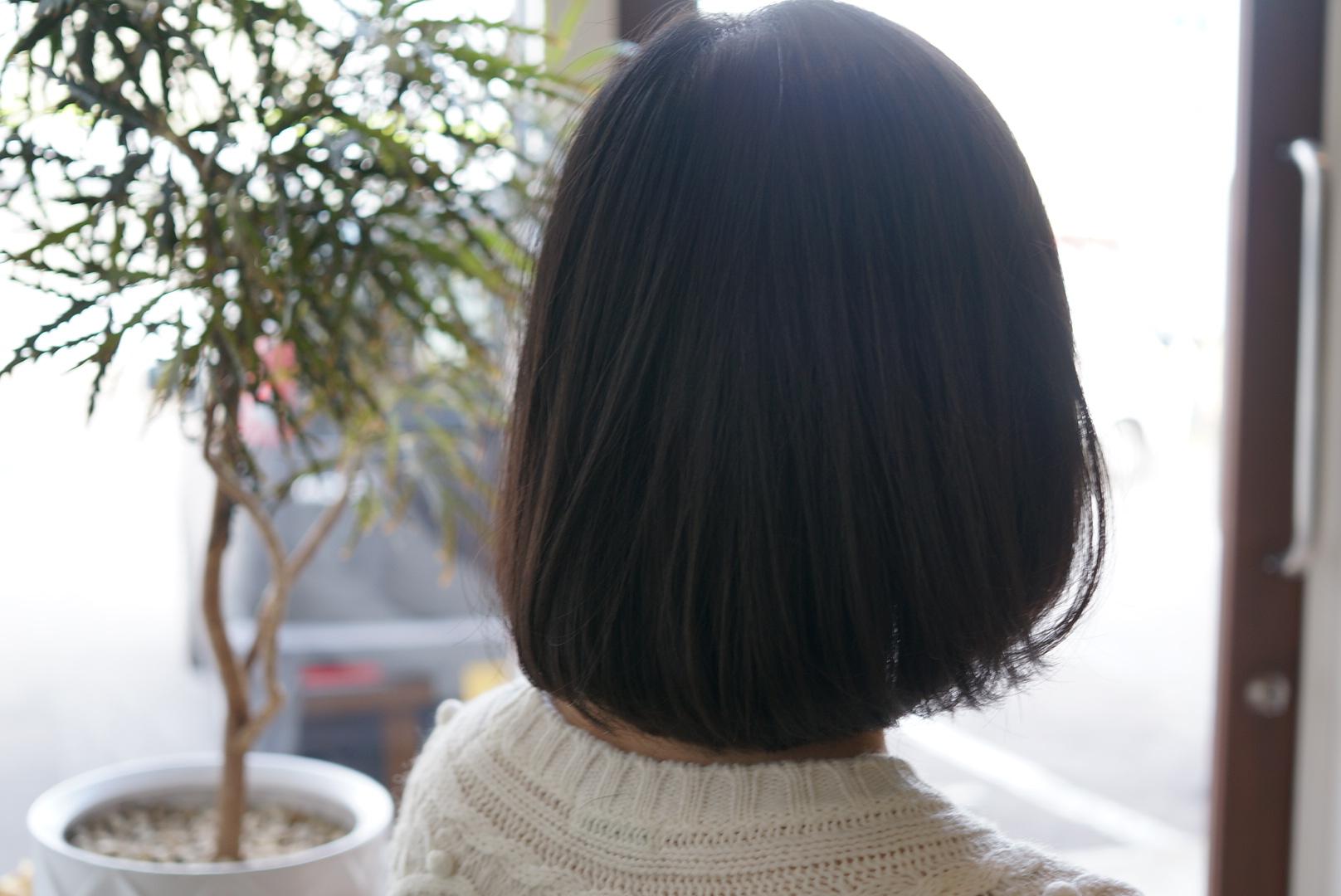【王道ヘアスタイル】ワンレンボブ(お客様)