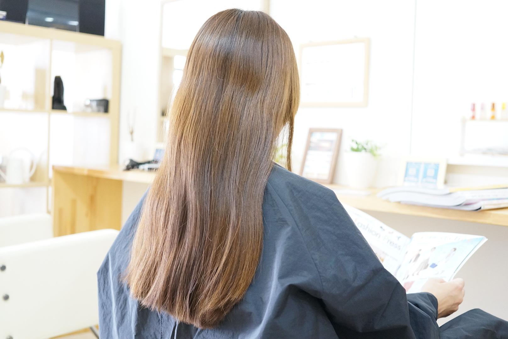髪の色がオレンジに色落ちしやすい