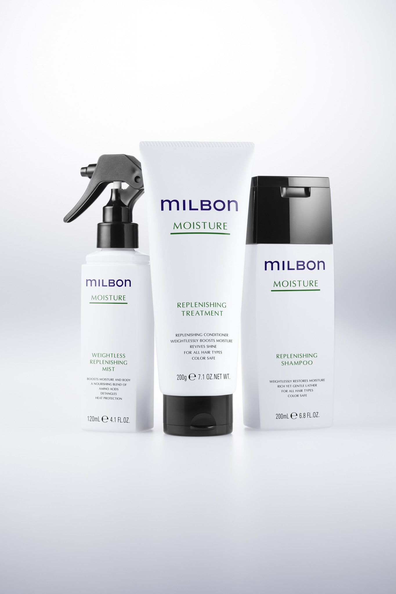 MOISTURE ミルボン[mILBON]3タイプ