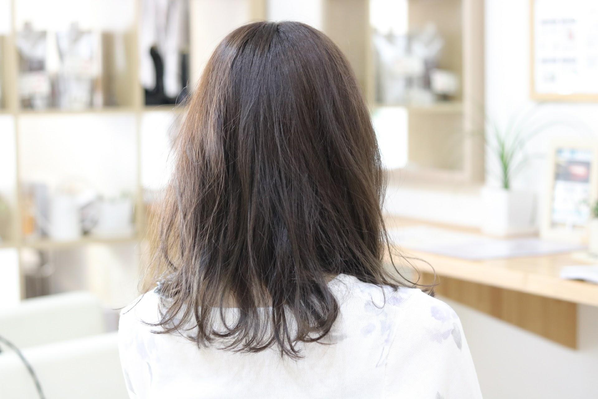 スローカラーはどんなヘアスタイルにもおすすめです。