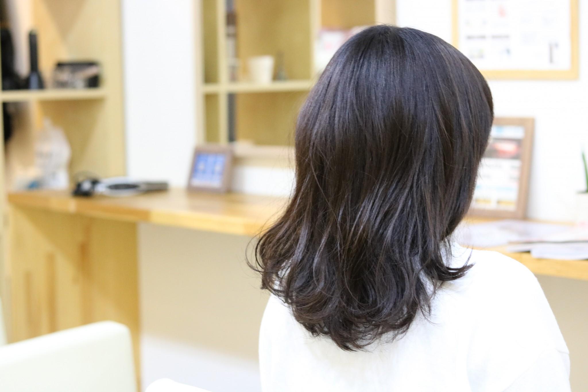 【モノトーンアッシュ】施術後