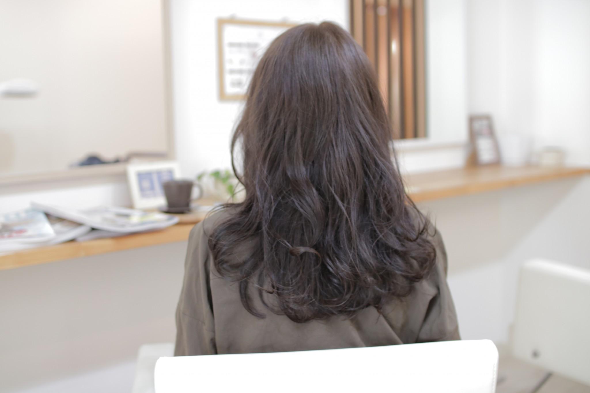 暗いけど透けるカラー【Blue×Mt(モノトーン)】
